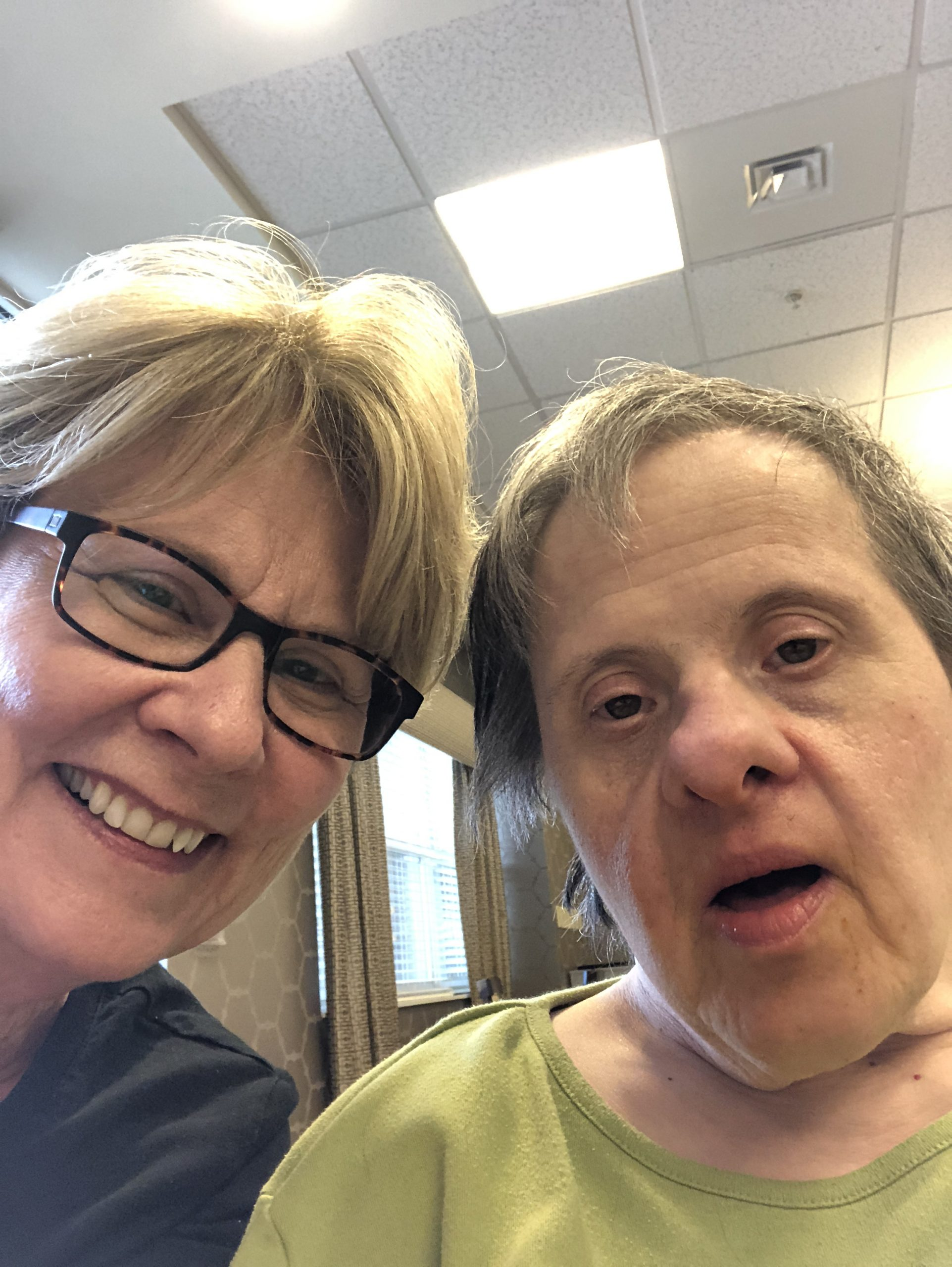 Joanne and Verna