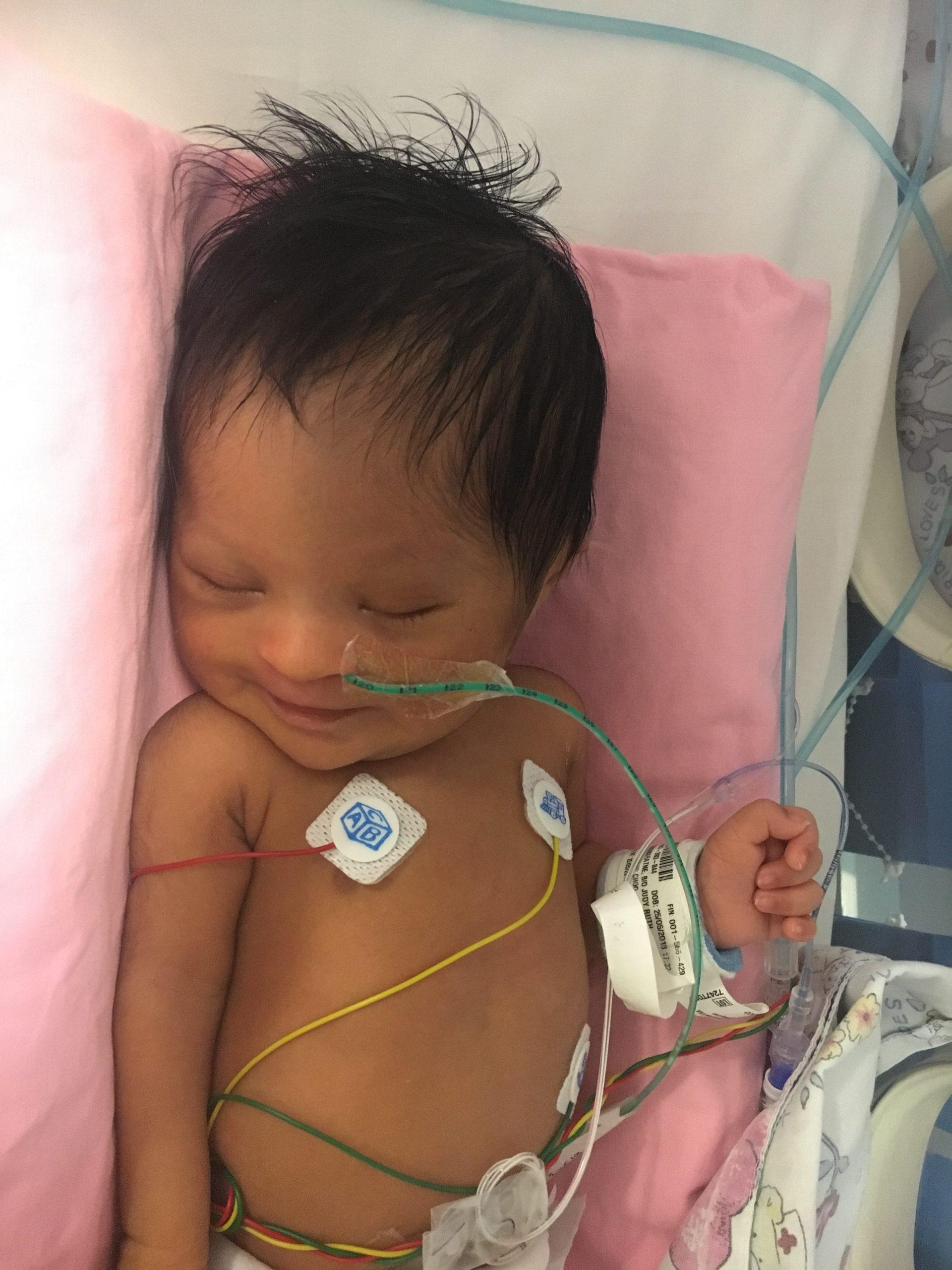 Mikayla on ICU