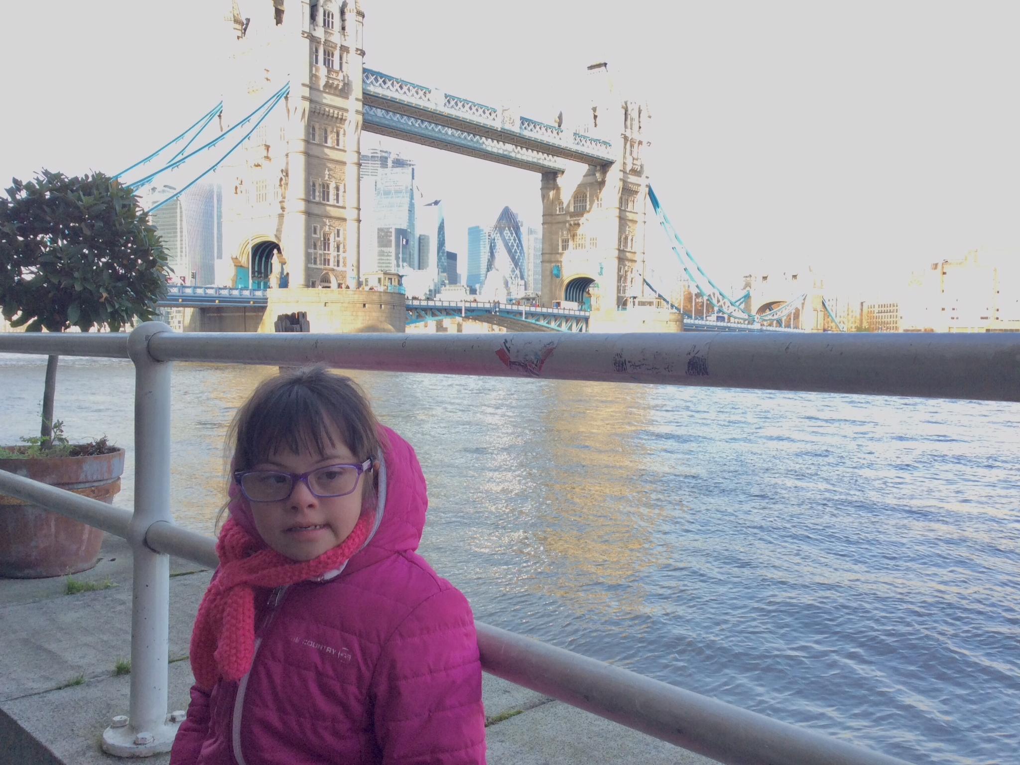 Sandra visiting London