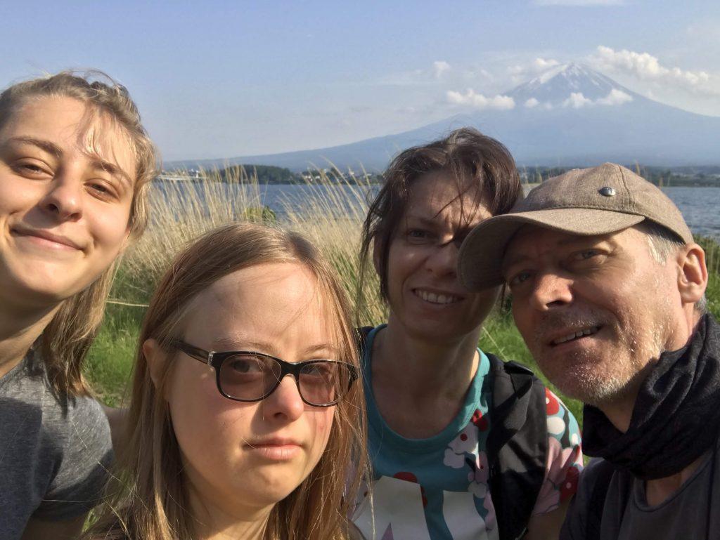 The Kowalczyk family from Poland