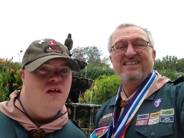 Scott is an Eagle Scout